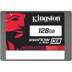 "Kingston SSDNow KC400 128 GB 2.5"" Internal Solid State Drive"