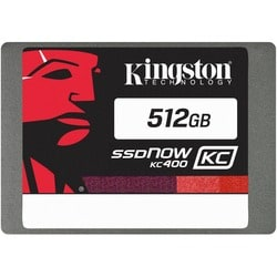 "Kingston SSDNow KC400 512 GB 2.5"" Internal Solid State Drive"