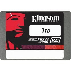 "Kingston SSDNow KC400 1 TB 2.5"" Internal Solid State Drive"