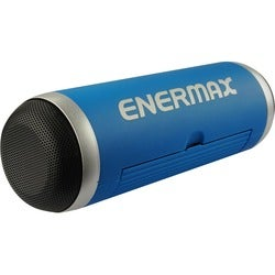 Enermax EAS01-BL Speaker System - 6 W RMS - Portable - Battery Rechar