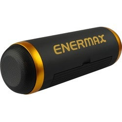 Enermax EAS01-BK Speaker System - 6 W RMS - Portable - Battery Rechar