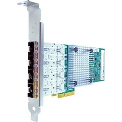 Axiom PCIe x4 1Gbs Quad Port Fiber Network Adapter