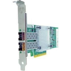 Axiom PCIe x8 10Gbs Dual Port Fiber Network Adapter for QLogic