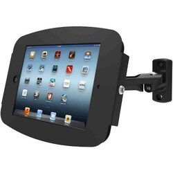 """iPad Pro (12.9"""") Secure Space Enclosure with Swing Arm Kiosk Black"""