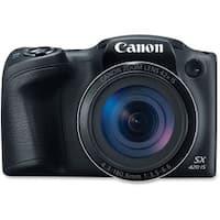 Canon PowerShot SX420 IS 20 Megapixel Compact Camera - Black