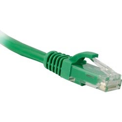 ENET Cat6 Green 6 Inch Patch Cable with Snagless Molded Boot (UTP) Hi