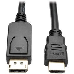 Tripp Lite 6ft DisplayPort to HD Adapter Converter Cable DP w/ Latche