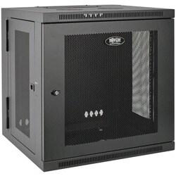 Tripp Lite 12U Wall Mount Rack Enclosure Server Cabinet Swinging Hing