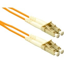 ENET LC to LC 4 meter OM2 50/125 Orange Duplex Multimode PVC Fiber Op