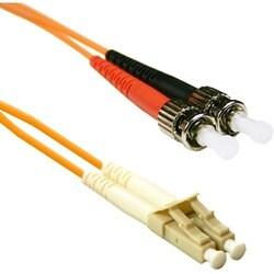 ENET 3M ST/LC Duplex Multimode 62.5/125 OM1 or Better Orange Fiber Pa