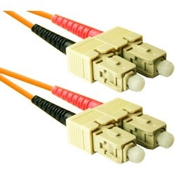 ENET SC to SC 20 meter OM2 50/125 Orange Duplex Multimode PVC Fiber O