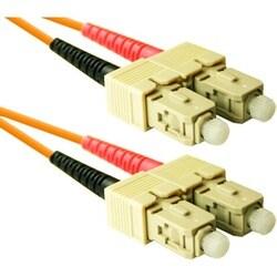 ENET 20M SC/SC Duplex Multimode 50/125 OM2 or Better Orange Fiber Pat