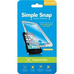 ReVamp Simple Snap Screen Protector (iPhone 5/5S) (Tempered Glass) Tr
