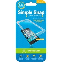 ReVamp Simple Snap Screen Protector (iPhone 5C) (Tempered Glass) Tran