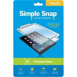 ReVamp Simple Snap Screen Protector (iPad Air) (Tempered Glass) Trans