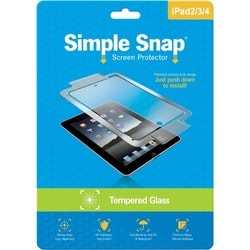 ReVamp Simple Snap Screen Protector (iPad 2/3/4) (Tempered Glass) Tra