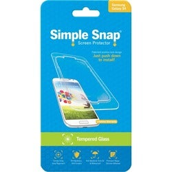 ReVamp Simple Snap Screen Protector (Samsung Galaxy S4) (Tempered Gla
