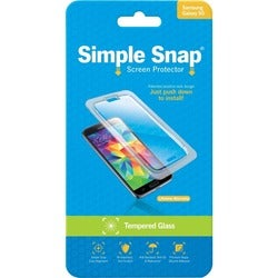 ReVamp Simple Snap Screen Protector (Samsung Galaxy S5) (Tempered Gla