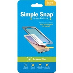 ReVamp Simple Snap Screen Protector (Samsung Galaxy S6) (Tempered Gla