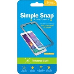 ReVamp Simple Snap Screen Protector (Samsung Galaxy Note 4) (Tempered