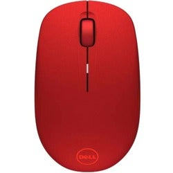 Dell Wireless Mouse - WM126 - Red