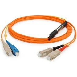 AddOn 3m Cisco CAB-GELX-625= Compatible SC (Male) to SC (Male) Orange