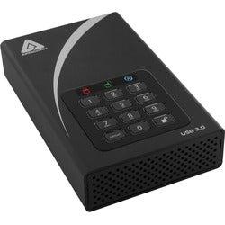 "Apricorn Aegis Padlock DT ADT-3PL256-8000 8 TB 3.5"" External Hard Dri"