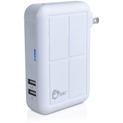 SIIG 3-in1 Power Bank Charger - White