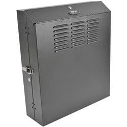 Tripp Lite 4U Wall Mount Low Profile Secure Rack Enclosure Cabinet Ve