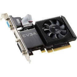 EVGA GeForce GT 710 Graphic Card - 954 MHz Core - 1 GB DDR3 SDRAM - P