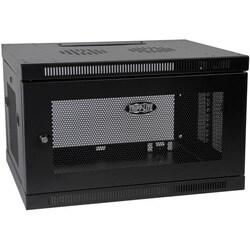 Tripp Lite 6U Wall Mount Rack Enclosure Server Cabinet Switch Depth D