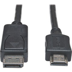 Tripp Lite 20ft DisplayPort to HDMI Adapter Converter Cable Video / A