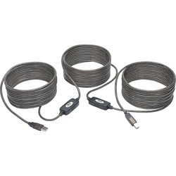 Tripp Lite 50ft USB 2.0 Hi-Speed Active Repeater Cable USB-A to USB-B