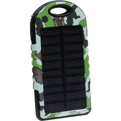 Gear Head High Capacity 5000mAh Solar Power Bank