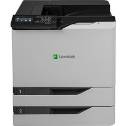 Lexmark CS820dte Laser Printer - Color - 1200 x 1200 dpi Print - Plai