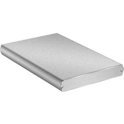 Macally M-S250U3 Drive Enclosure External - Silver