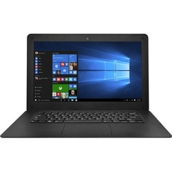 "Ematic 14.1"" 16:10 Notebook - 1280 x 800 - Intel Atom Quad-core (4 Co"