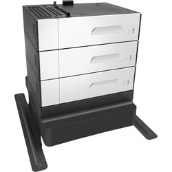 HP PageWide Enterprise 3 x 500-sheet Paper Feeder and Stand