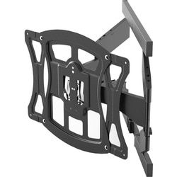 Suncraft Solutions Ultra Slim Full Motion TV Mount Optimized for Sams