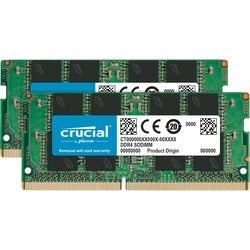 Crucial 16GB Kit (8GBx2) DDR4-2400 SODIMM