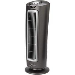 "Lasko 25"" Space-Saving Oscillating Tower Fan with Remote Control"