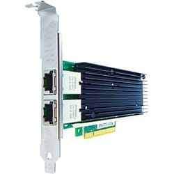 Axiom PCIe x8 10Gbs Dual Port Copper Network Adapter