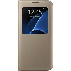 Samsung S-View Carrying Case (Flip) for Smartphone - Gold|https://ak1.ostkcdn.com/images/products/etilize/images/250/1033063861.jpg?impolicy=medium