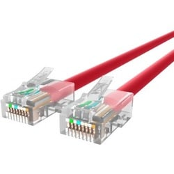 Belkin CAT6 Ethernet Patch Cable, RJ45, M/M A3L980-10-RED