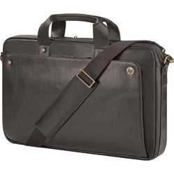 "HP Executive Carrying Case (Suitcase) for 17.3"" Notebook - Brown"