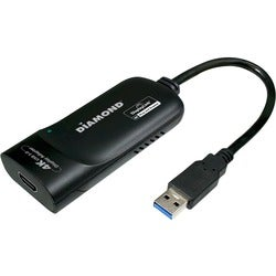DIAMOND Multimedia USB 3.0 to HDMI 4k/2k Video Graphics Adapter