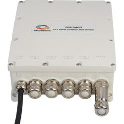 Microsemi PDS-104GO 4+1 Outdoor Switch, 60W Per Port, Managed PoE, AC