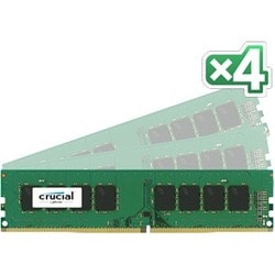 Crucial 32GB Kit (8GBx4) DDR4-2133 DIMM