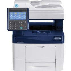 Xerox WorkCentre 6655i Laser Multifunction Printer - Color - Plain Pa