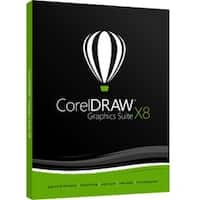 Corel CorelDraw Graphics Suite v.X8 - Box Pack - 1 User - Academic